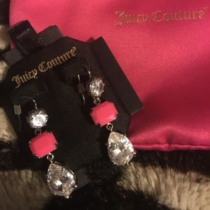 JC Crystal Dangle Earrings